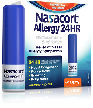 Nasacort Allergy 24HR packshot